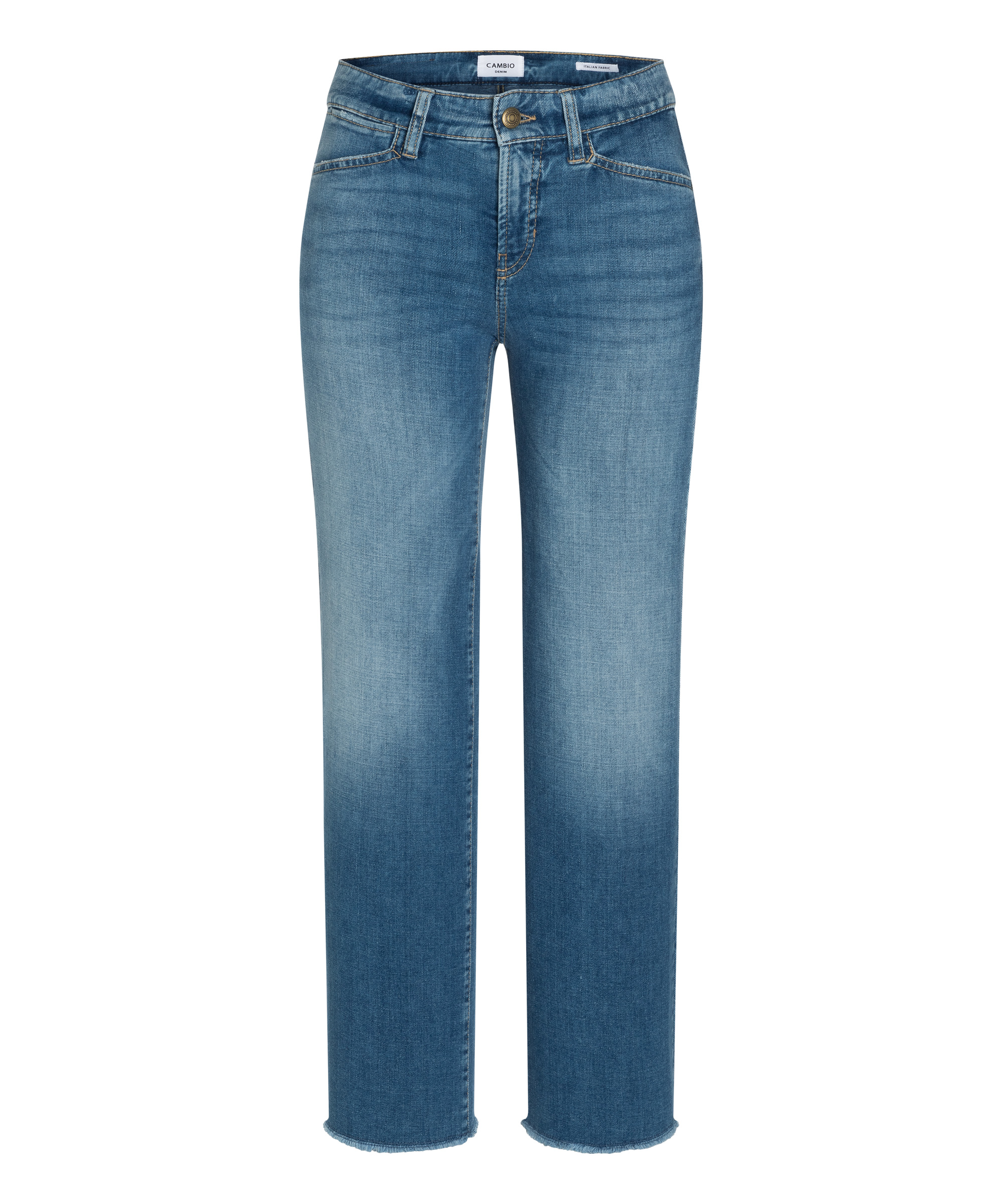 Cambio Jeans Christie MEDIUM SUMMER FRINGED HEM