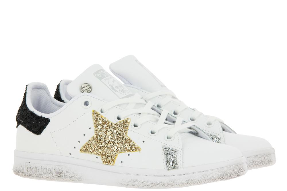 Adidas by BallodaSola Sneaker STAN SMITH  GLITTER NERO ORO
