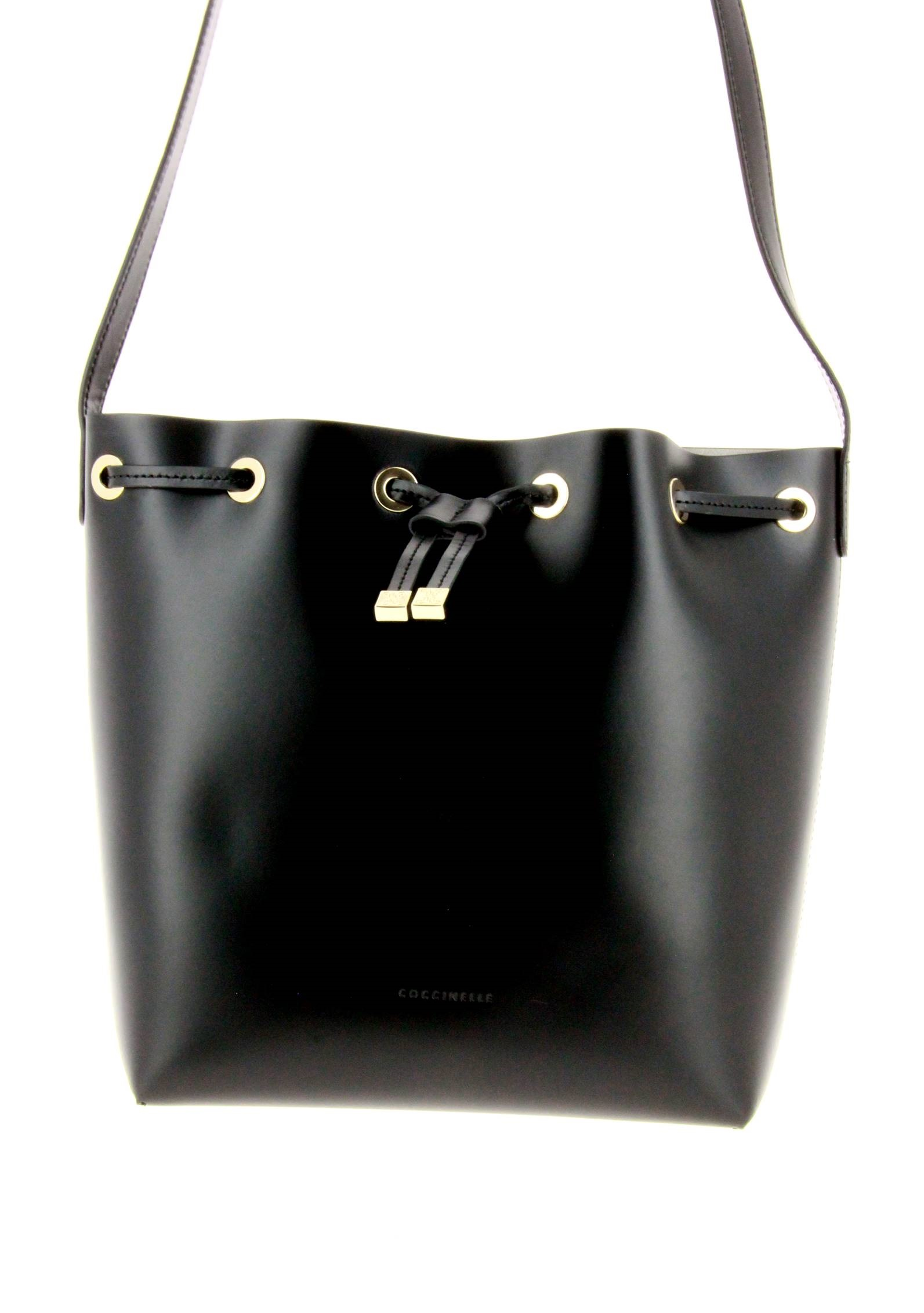 Coccinelle Handtasche XN5 LEATHER BLACK
