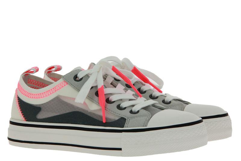 ASH Sneaker VERTU NYLON TRANSPARENT PEARL WHITE (38)