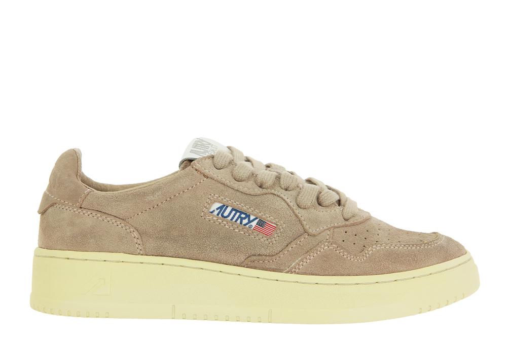 Autry Sneaker LOW WOMAN SUEDE POWDER