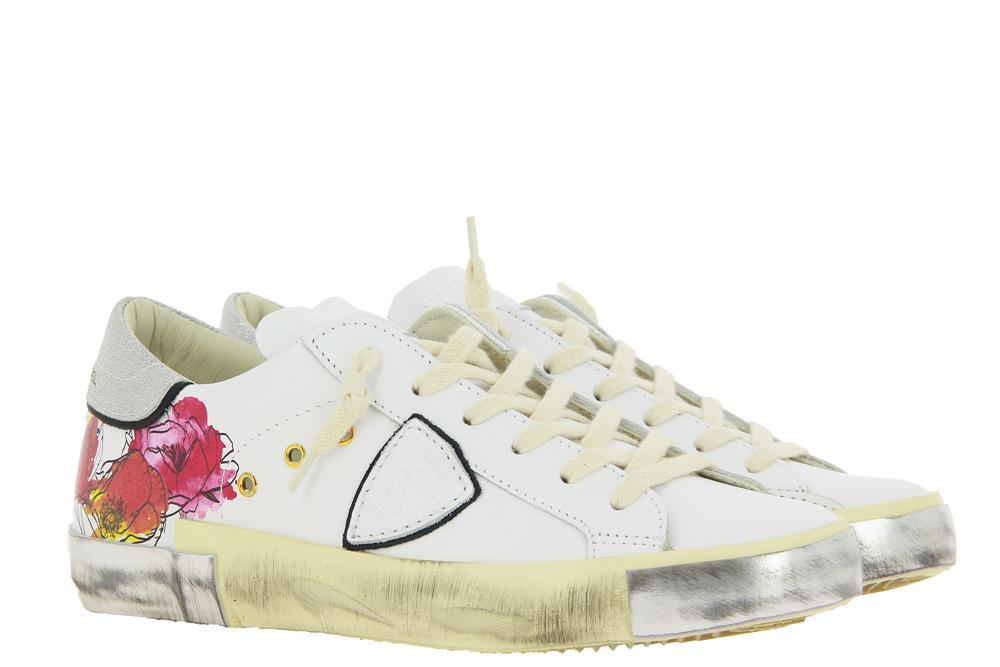 Philippe Model Sneaker FLEURS BLANC