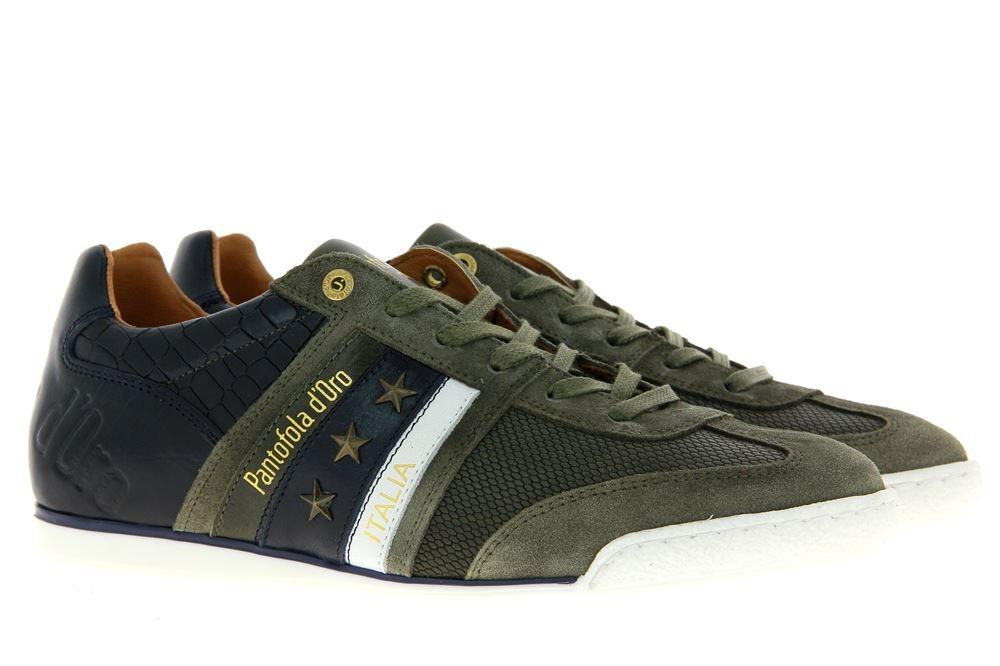 Pantofola d´Oro Sneaker IMOLA CROCCO UOMO LOW OLIVE (40)