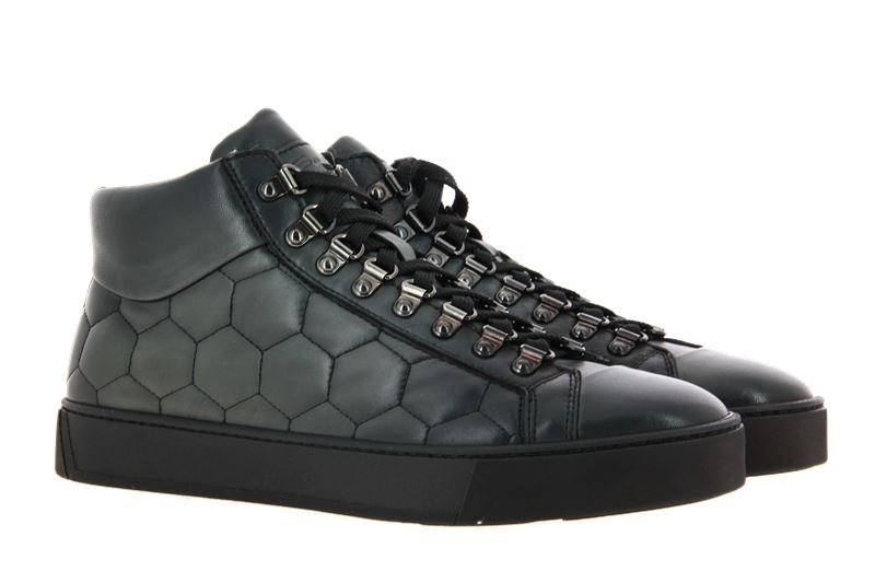 Santoni High Top Sneaker LEATHER GIRGIO (43½)