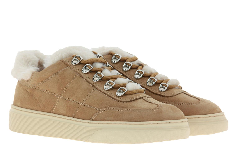 Hogan Sneaker ALLACCIATO BASSO H STITCHING HELLBRAUN (40)
