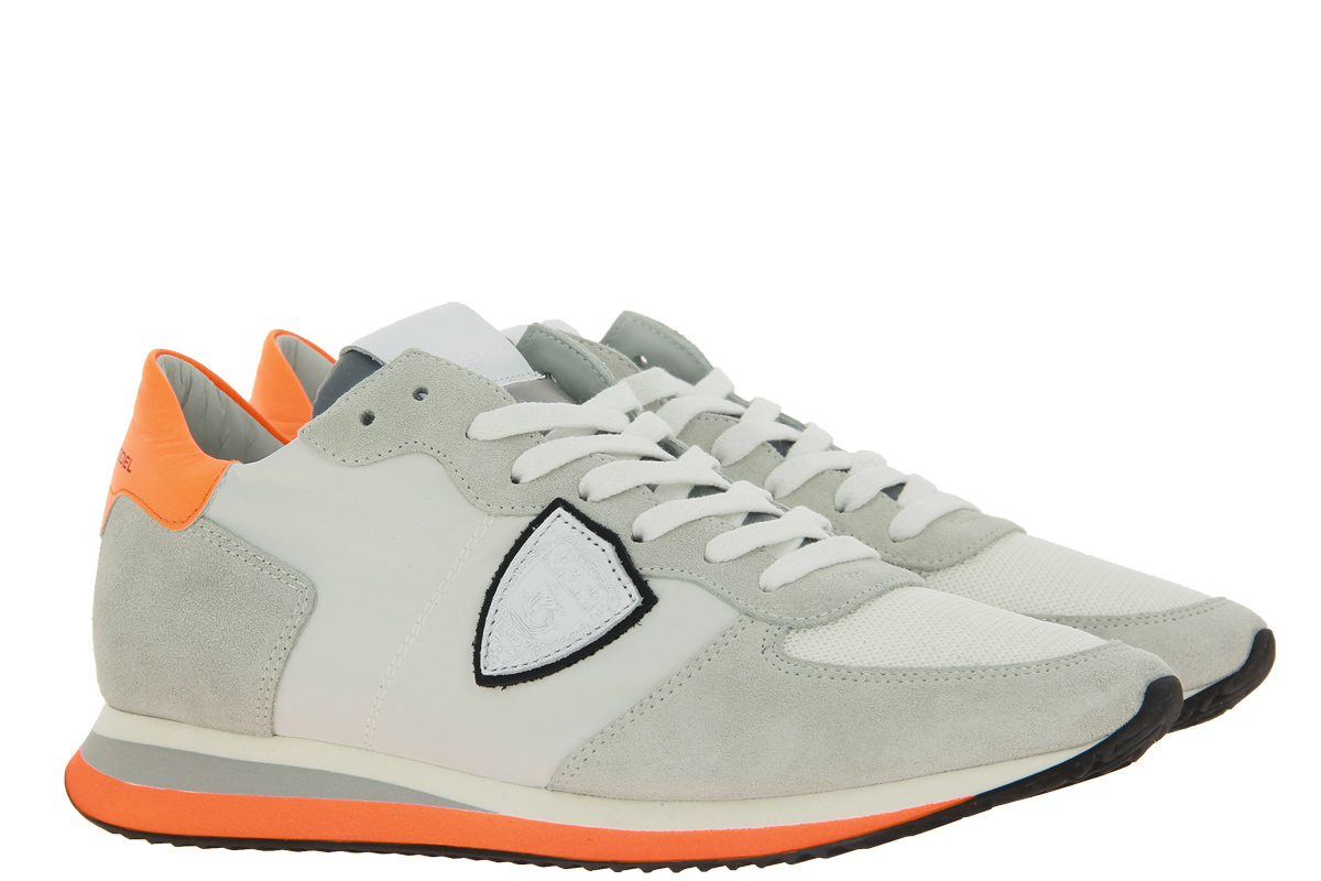 Philippe Model Sneaker TROPEZ MAN NEON BLANC