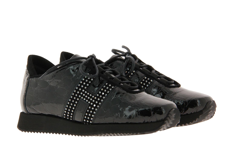 Mania Sneaker MONTMARTRE NERO CAMOSCIO NERO (36)
