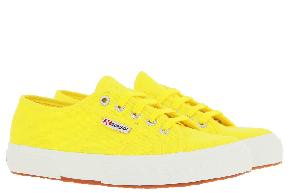 Superga Damen Sneaker 2750 COTU CLASSIC YELLOW SUNFLOWER