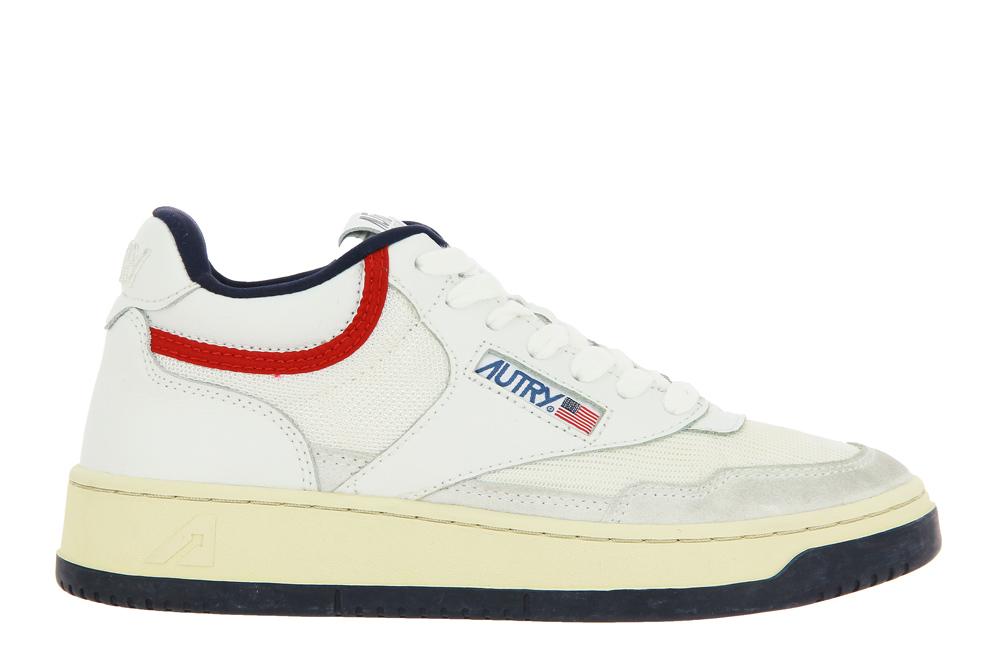 Autry Sneaker MID WOMAN OPEN WHITE USA