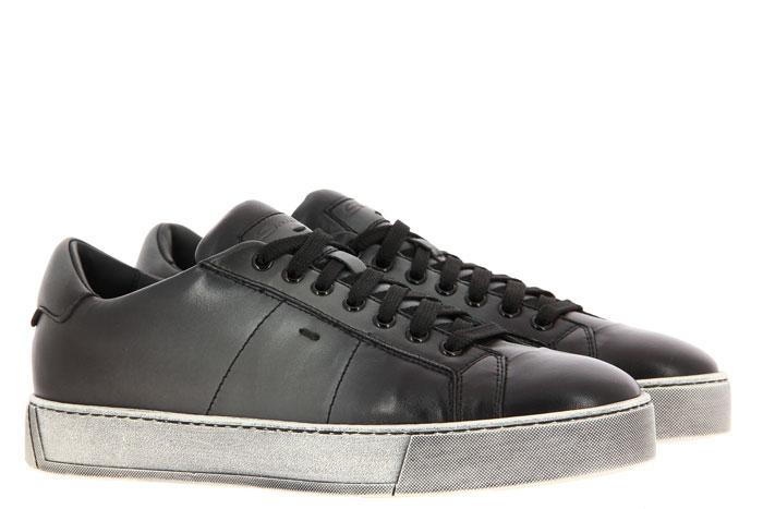 Santoni Sneaker NAPPA GRIGIO (44½)
