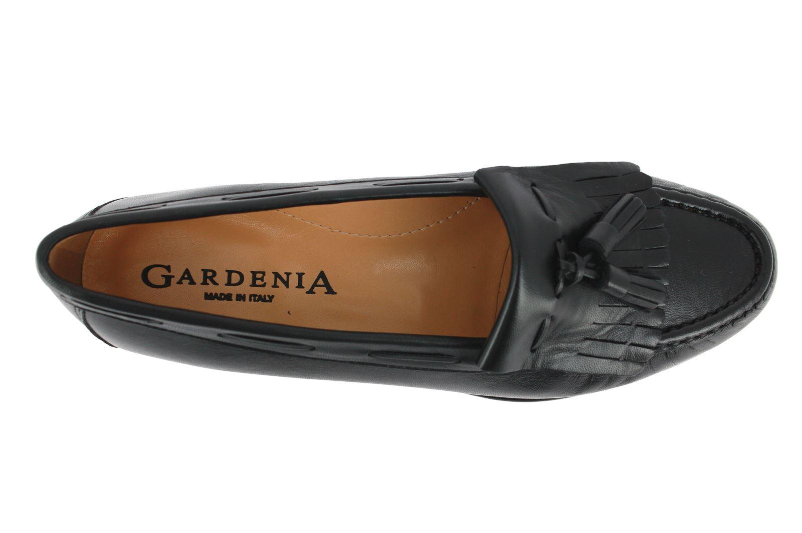 Gardenia Mokassin NAPPA NERA (41½)