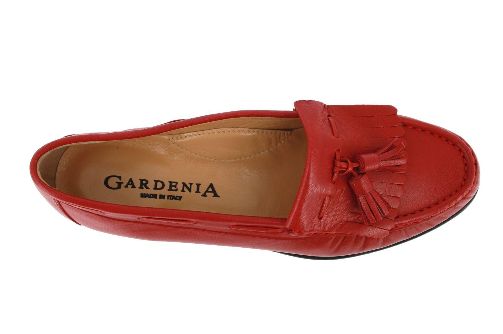 Gardenia Mokassin NAPPA ROSSO (39½)