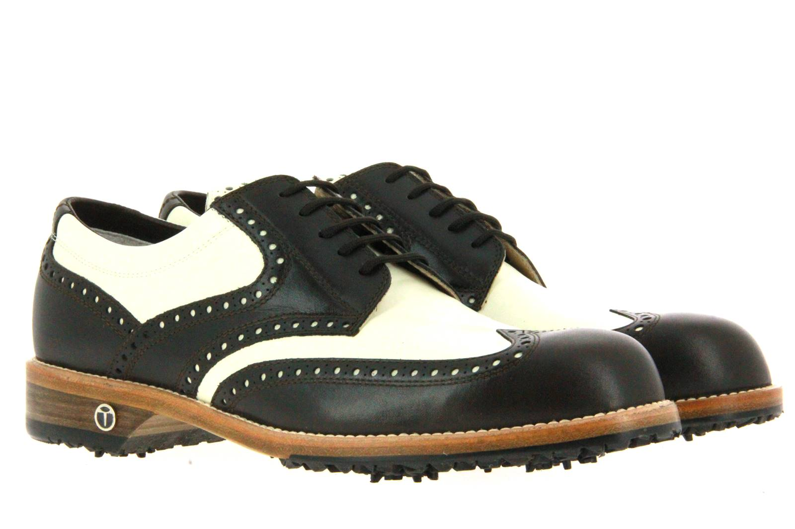 Tee Golf Shoes Herren- Golfschuh TOMMY CHOCOLATE PICCIONE (46½)