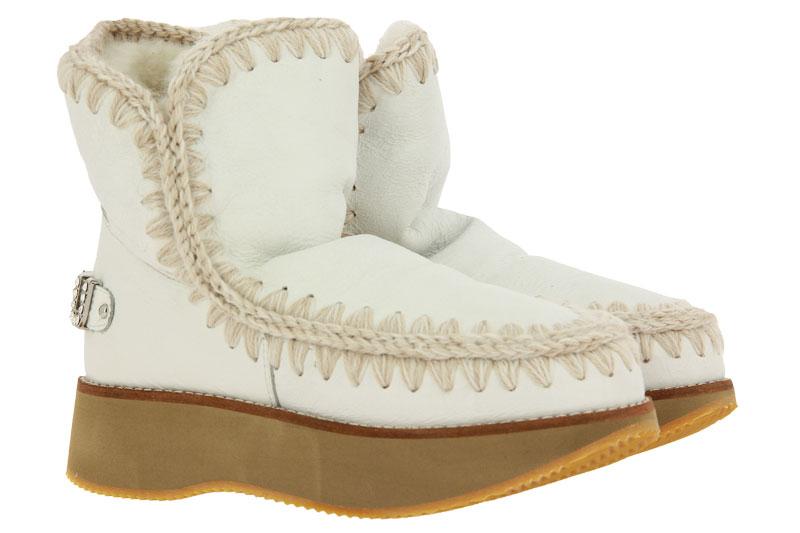 MOU Boots RUNNING ESKIMO 18 LOGO WAXI WHITE (40)