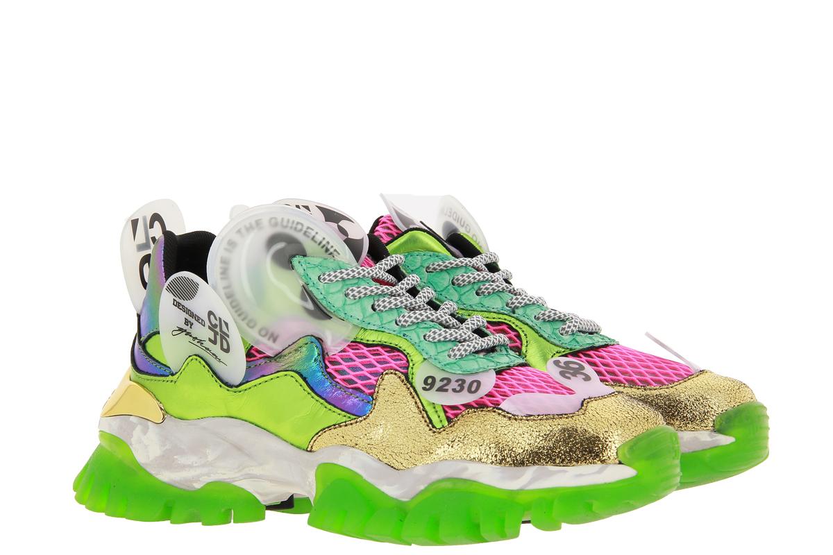 CLJD Sneaker PINK GREEN
