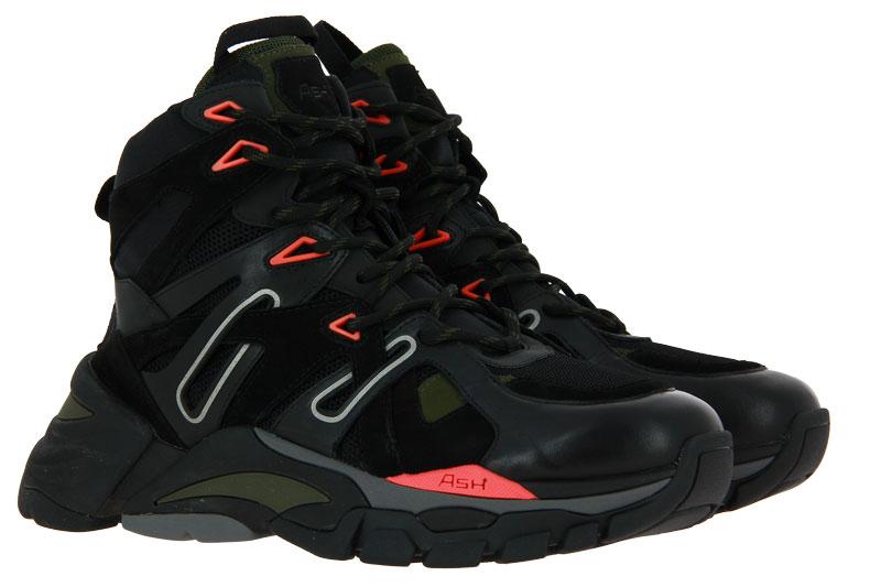 Ash Sneaker FARGO NAPPA CALF BLACK  (45)