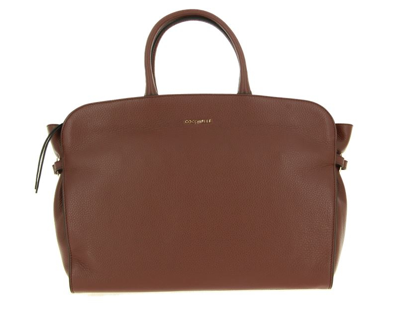 Coccinelle Tasche ELLA LEATHER CHOCOLATE