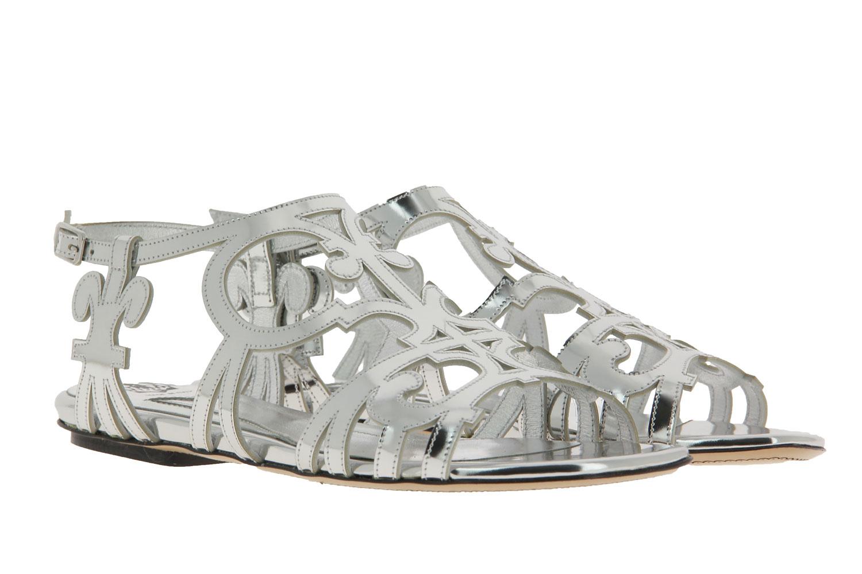 Truman's Sandale SPECCHIO ARGENTO (39½)
