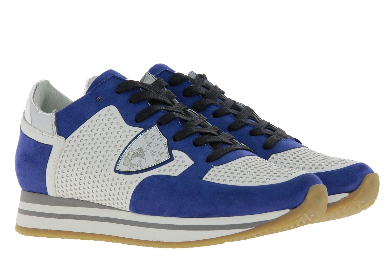 Philippe Model Sneaker TROPEZ TECHNIQUE STUD BLUE BLANC (39)