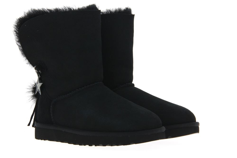 UGG Australia Boots CLASSIC CHARM BOOT BLACK (36)