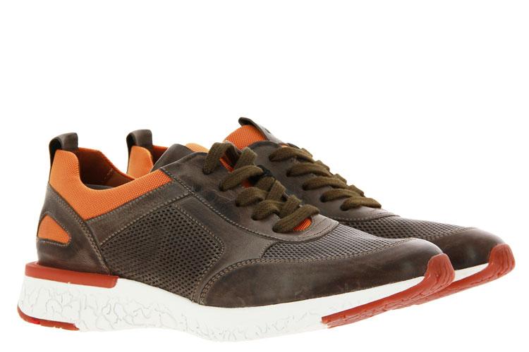 Lloyd Sneaker BANDOS CUBA CALF GRAPHIT ORANGE (42½)