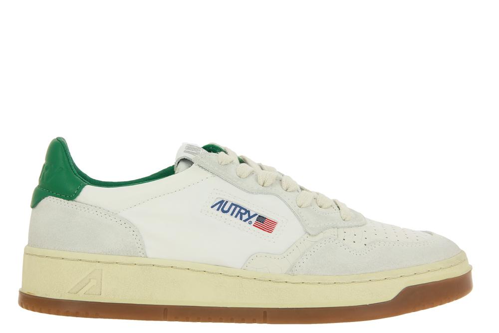 Autry Sneaker LOW MAN NYLON BICOL WHITE GREEN