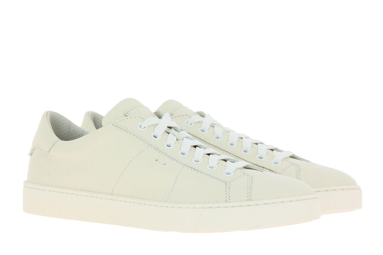 Santoni Sneaker NAPPA BIANCO (41½)