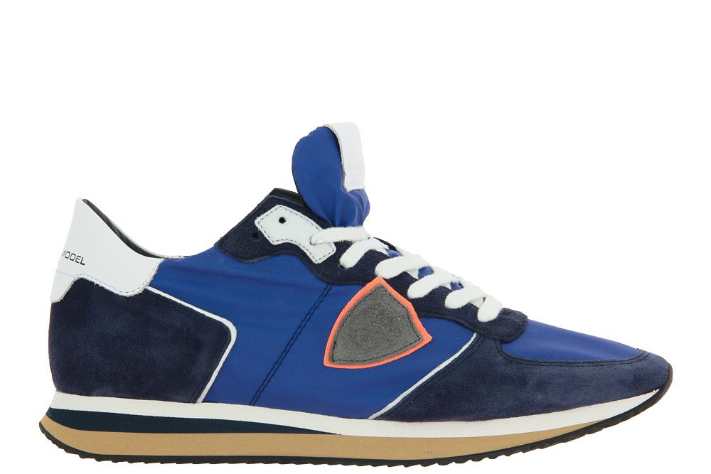 Philippe Model Sneaker TROPEZ LOW MAN MONDIAL BLUETTE