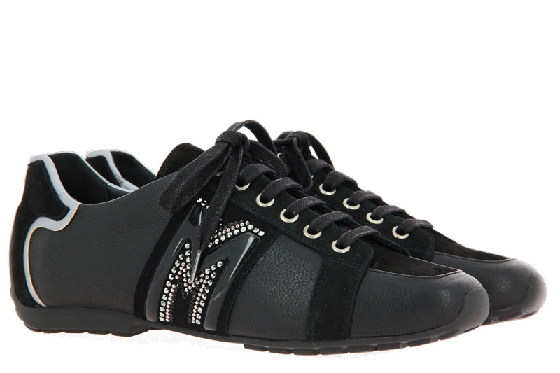 Mania Sneaker LAS VEGAS NERO CAMOSCIO NERO (37 )