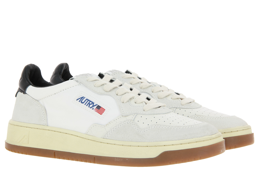 Autry Sneaker LOW MAN NYLON BICOL WHITE BLACK