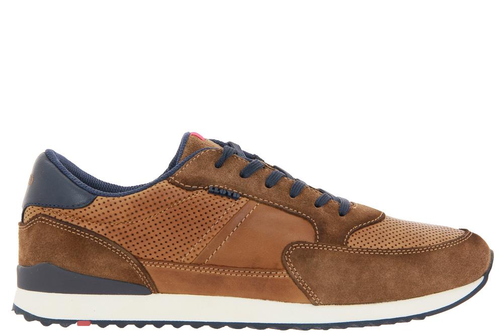 Lloyd Sneaker ELLARD STRATO DYLAN CIGAR SUEDE