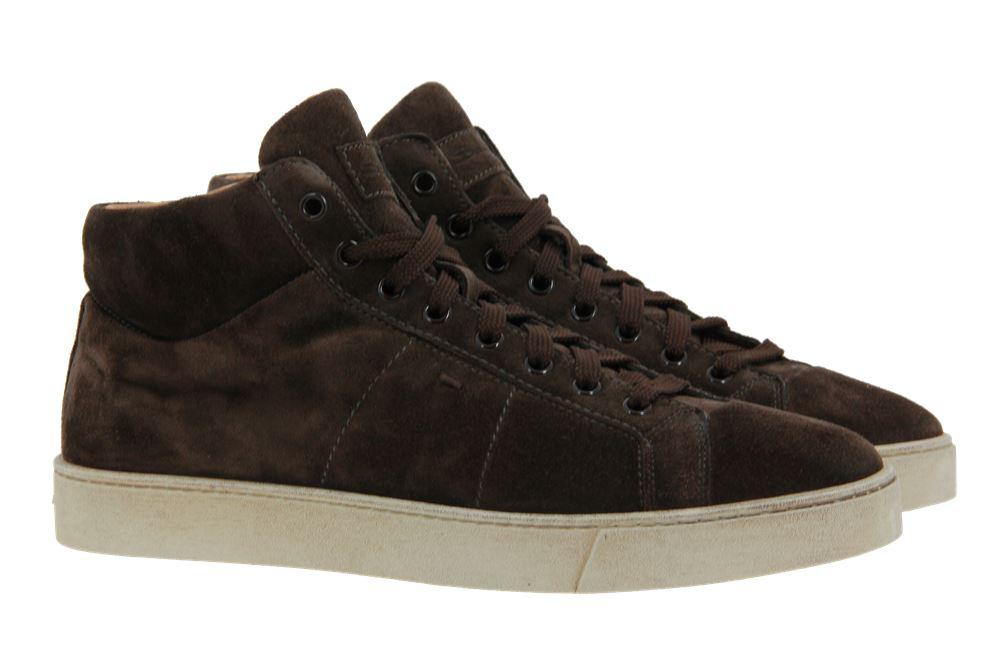 Santoni Sneaker VELOURSLEDER BRAUN  (44)
