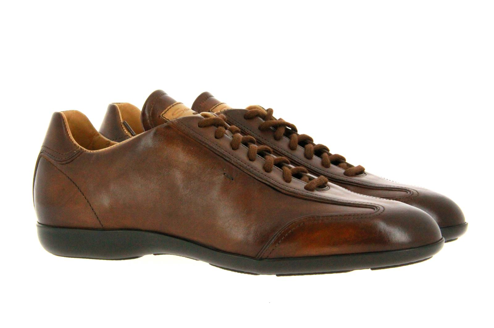 Santoni Sneaker MBEA BROWN (41)