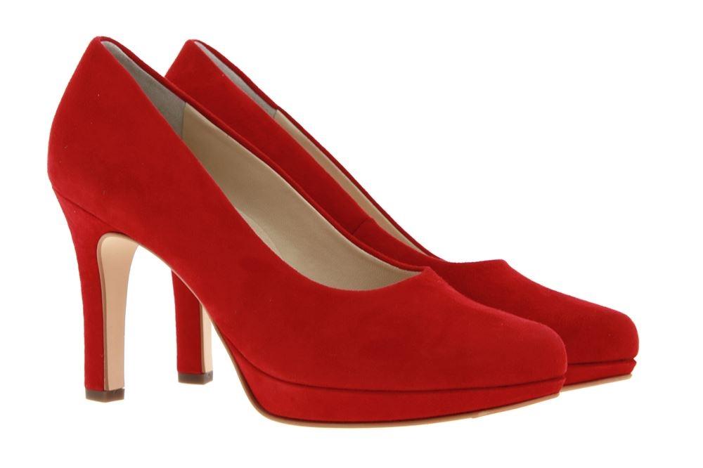 Paul Green Pumps SAMTZIEGE RED (35½)