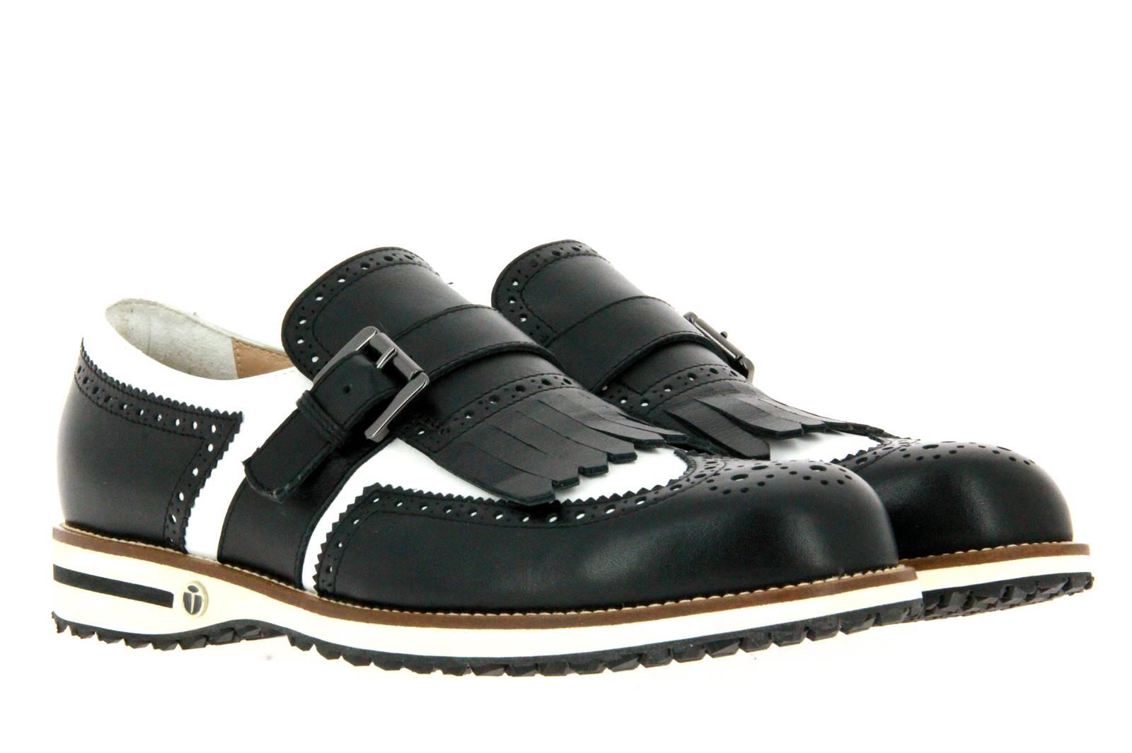 Tee Golf Shoes Herren- Golfschuh ADAM VITELLO WP NERO BIANCO (40)