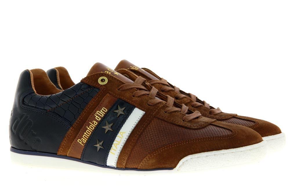 Pantofola d´Oro Sneaker IMOLA CROCCO UOMO LOW TORTOISE SHELL (45)