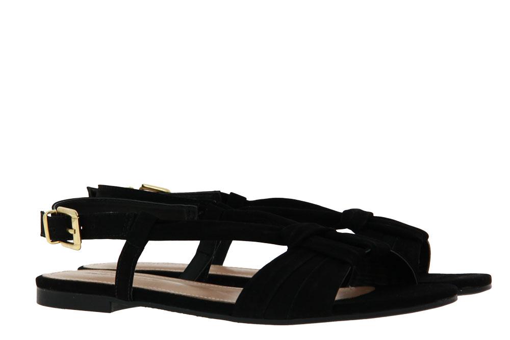 Unique Sandale LIZA NOBUCK PRETO (38)