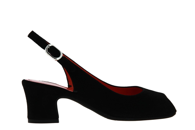 Pas de rouge Sandale MILLY CAMOSCIO NERO (41½)
